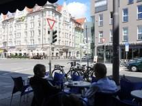 Eiscafe 'Venezia' in Schwabing, 2011