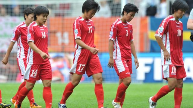 Frauen-WM 2011- Nordkorea - Schweden 0:1