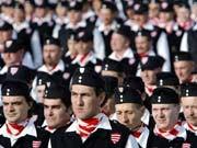 Ungarische Garde, , Reuters, Jobbik, NPD