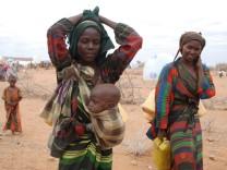Somalische Flüchtlinge strömen wegen Dürre nach Äthiopien