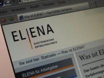 ELENA-Verfahren zum Entgeldnachweis gescheitert