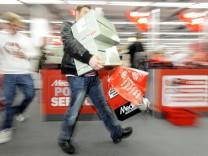 Eröffnung weltgrößte Media Markt Filiale