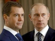Medwedew 100 Tage im Amt