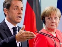 Sarkozy berät mit Merkel vor Euro-Gipfel