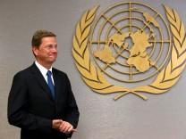 UN-Sicherheitsrat New York - Westerwelle