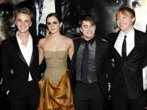 Tom Felton, Emma Watson, Daniel Radcliffe, Rupert Grint