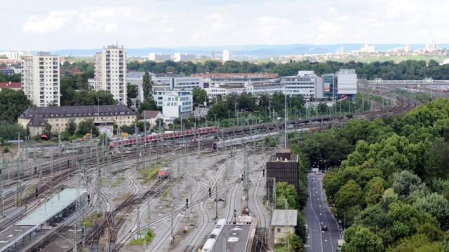 Gleisvorfeld Hauptbahnhof Stuttgart
