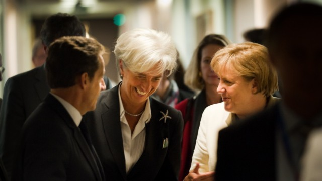 European Leaders Meet To Resolve The EU Debt Crisis