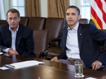 Obama meets Congressional Leaders