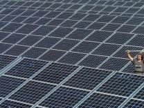 Solar-Kraftwerk im Saarland
