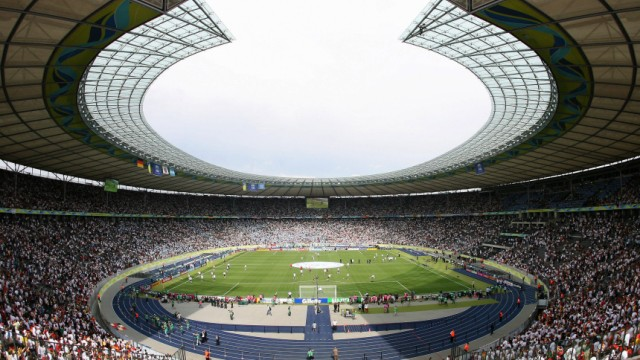 Olympiastadion Berlin, Fußball Champions League, Finale 2015