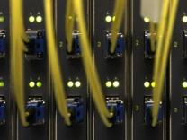 Pressekonferenz zu Breitbandversorgung in Bayern