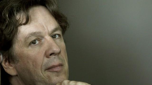 Swiss meteorologist and TV weather host Joerg Kachelmann addresses a news conference in Zurich