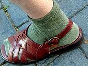 sandale socke
