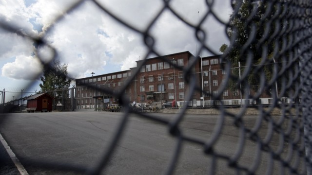 The Ila prison where Anders Behring Breivik is held is seen in the little village of Eidsmarka, near Oslo