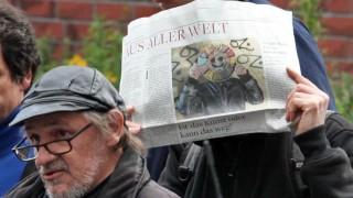 Prozess gegen den Graffiti-Sprayer 'OZ'