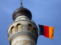 Minarett der Moschee Rendsburg
