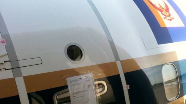 Gepfändeter Prinzen-Jet gegen Sicherheitsleistung frei