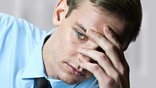 Arbeit und Soziales Burn-out