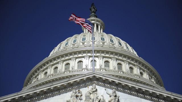 The U.S. Capitol dome in Washington