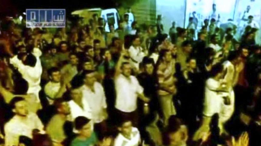 Aufstand in Syrien Proteste in Syrien