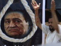 First day of former Egyptian President Hosni Mubarak trial