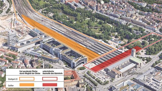 Stuttgart 21 Kombi-Bahnhof Geißler S21