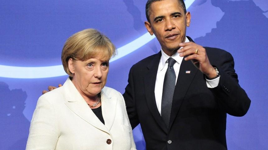 Internationaler Gipfel zur Atomsicherheit - Merkel und Obama