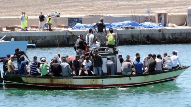 Krieg in Libyen Flüchtlingskatastrophe vor Lampedusa