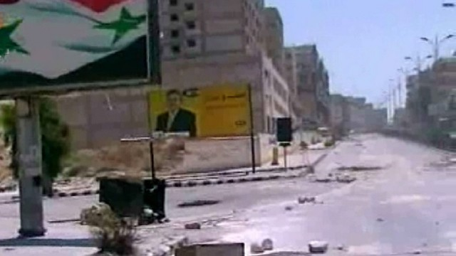 Unrest in the city of Hama