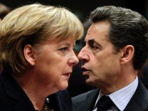 Krise an den Boersen: Merkel will mit Sarkozy telefonieren