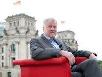 Horst Seehofer im ARD-Sommerinterview