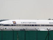 Insolvenzverwalter setzt thailaendisches Flugzeug in Muenchen fest