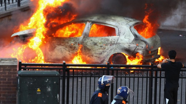 Rioting And Looting In Birmingham