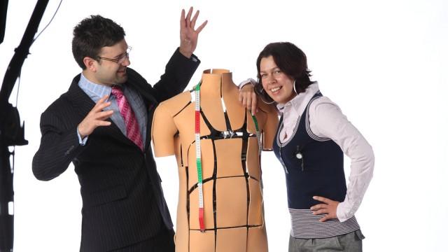 Digitale Wirtschaft Lösung für Kleider-Kauf im Internet