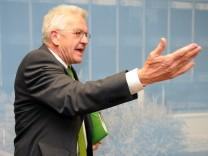 PK Ministerpräsident Winfried Kretschmann