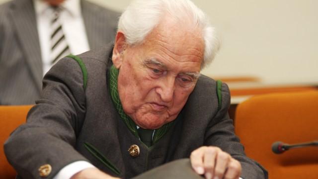 Urteilsverkündung gegen Josef Scheungraber, 2009