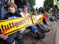 Montagsdemo gegen Stuttgart 21