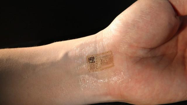 Elektronische Haut