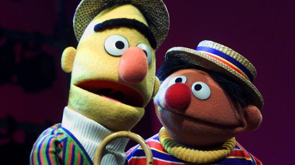 Ernie und Bert Ernie und Bert aus der Sesamstraße