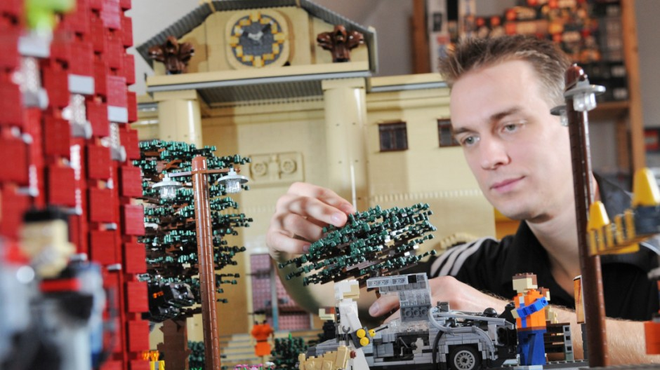 Lego-Fan Stephan Sander