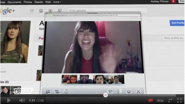 Google Plus Video
