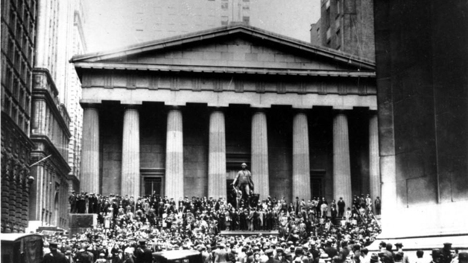Finanzmärkte am Abgrund Weltwirtschaftskrise