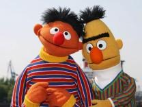 Amerika debattiert über Homo-Ehe zwischen Ernie & Bert
