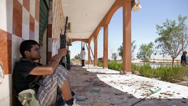 Krieg in Libyen Kämpfe in Libyen