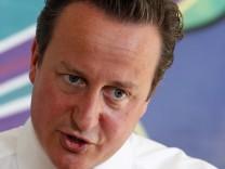 London Krawalle  David Cameron Makes A Speech Following Last Week's Rioting