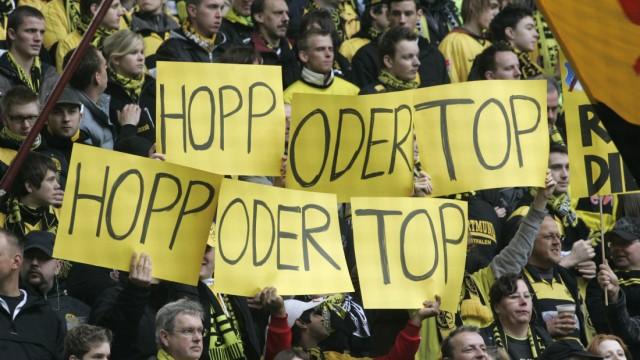 Bundesliga Lautsprecher-Attacke auf BVB-Fans