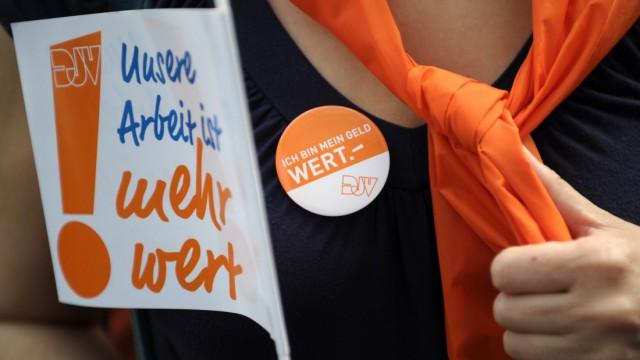 Zehnte Tarifrunde für Zeitungsredakteure in Hamburg