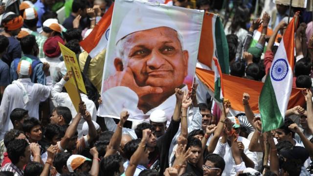 Anti-Korruptions-Bewegung Anti-Korruptions-Bewegung in Indien