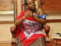 SWAZILAND-POLITICS-KING